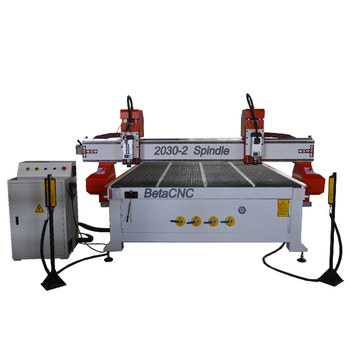 FORSUN cnc router atc two spindle wood Economic and multi function 3d wood machine for wood door