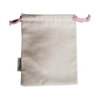 Wholesale Price recycled Canvas bag Drawstring Pouch Packaging Gift Bag Logo Printed Jewelry Bag