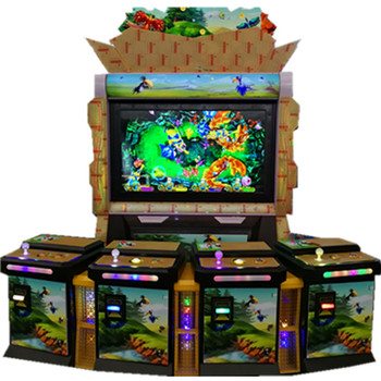 Arcade slot 4 seats ocean king 3 shooting Birds Machine Catching good profit fish game table gambling machines