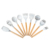 9 pcs Food grade silicone Cooking baking utensils heat resistant utensils silicone kitchen set