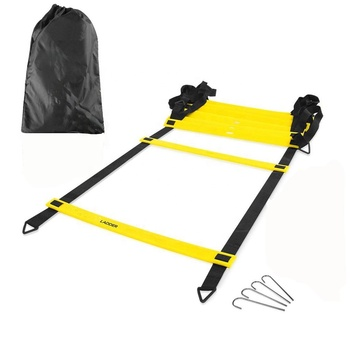 Wholesale Adjustable Training Speed Ladder Agility Ladder With Black Carry Bag
