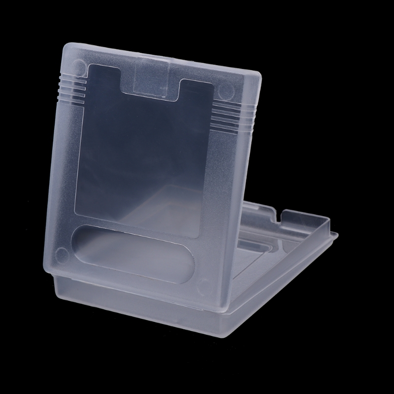 Clear Plastic Game Cartridge Case Dust Cover For Game Boy Color GBC