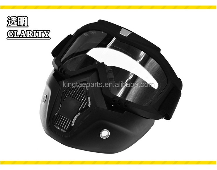 Hot Selling Motor Accessoires Motorfiets Vintage Bril Full Face Racing Custom Vintage Riding Motocross Goggles