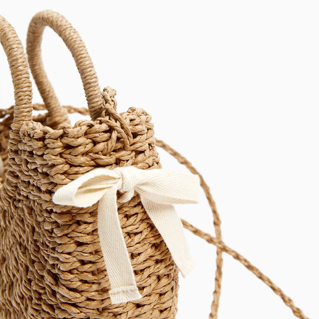 Creative autumn and winter new straw round plush dual-use rattan bag ladies shoulder bag