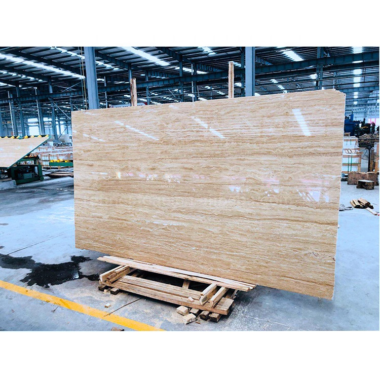 Travertine Wall Slab Price Stone Tile Iran Beige