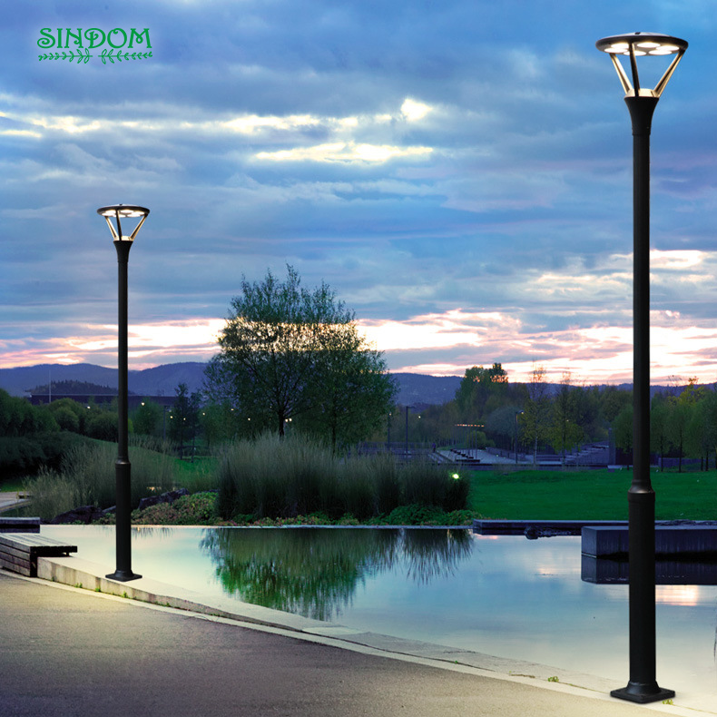 IP65 modern project street pole for light road light post outdoor