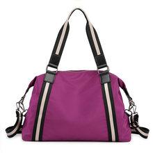 WEIXIER большая емкость дорожные сумки женское снаряжение, чемодан сумка Nylo портативные складные большие сумки Tote Женские выходные сумки V3-14(Китай)