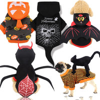 Suppliers Wholesale Crossdressing Party Pet Clothes Accessories Multiple Dog Halloween Costume