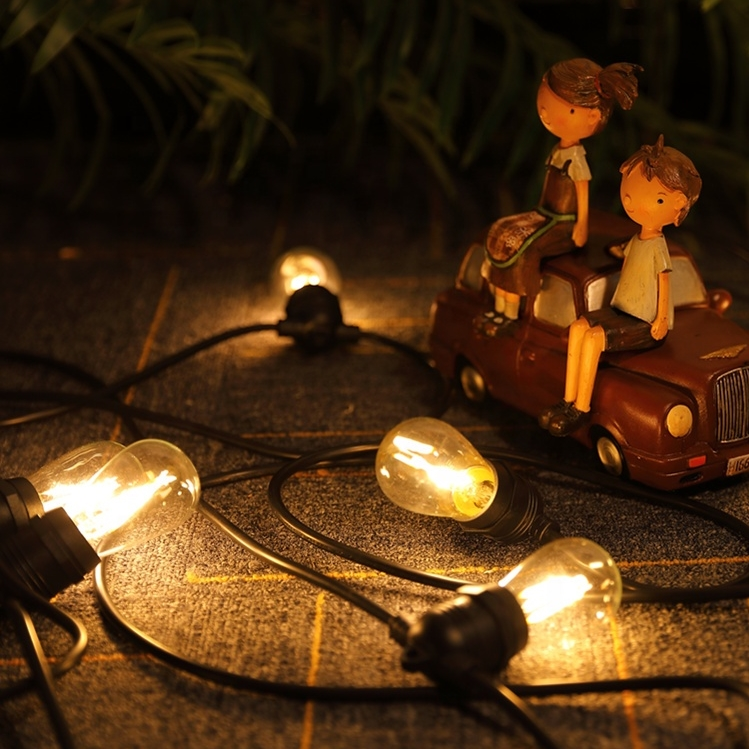 Most Popular 14.4M Ball Globe Fairy LED Strip for Outside Garden Party Holiday Outdoor Light Chain