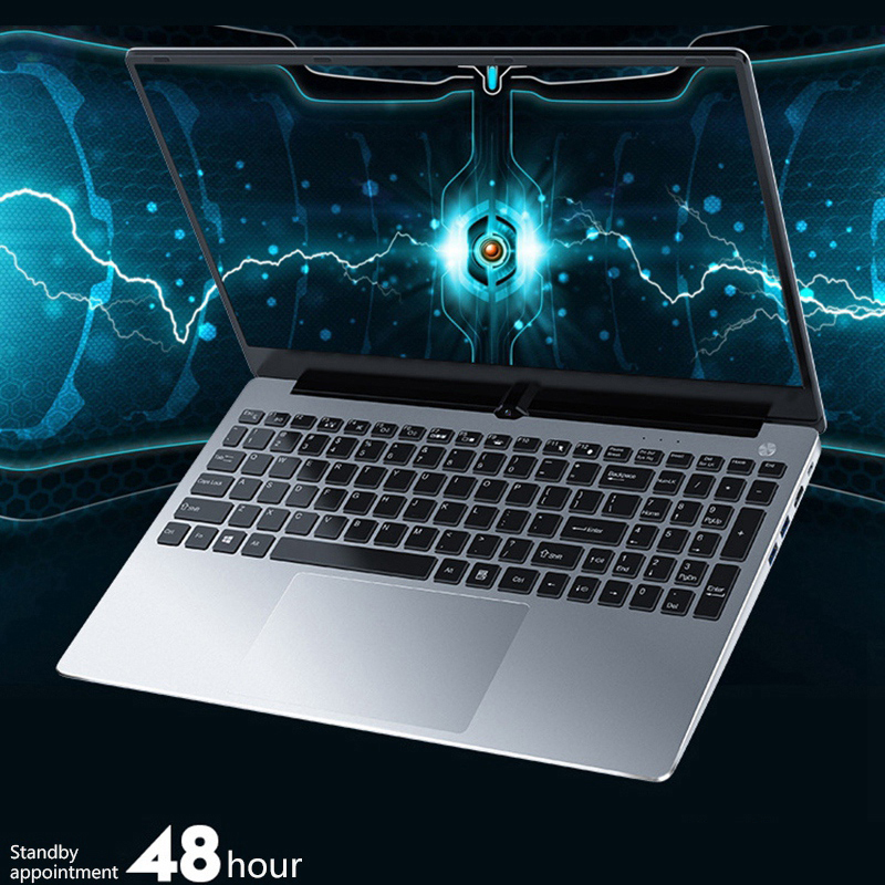 New 15.6 Inch Laptop Intel core i7 CPU 8GB + 128GB SSD Fingerprint and Backlight Keyboard OEM Laptop