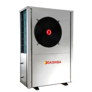 High cop air to water heat pump water chiller monobloc air source heat pump air conditioner for heating and cooling