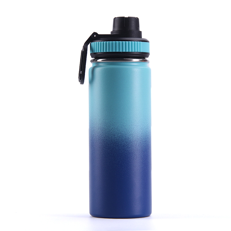 18oz BPA Free Bottle Water two tone steel sports hot water bottle 304 stainless steel insulated