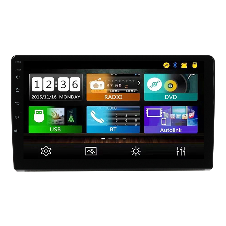IOKONE Hot 9&quot; Universal Multimedia Para Carro Stereo Radio Touch Screen Bluetooth MP5 <strong>Player</strong>