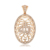 35558 Xuping Christmas promotion costume jewelry gold plated Halal religious pendant