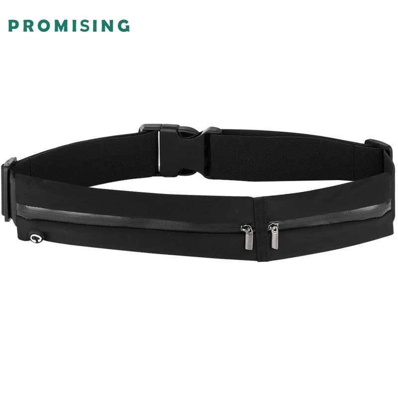 Promising unisex travel money belt waist belt high quality bag soft unisex running waist belt