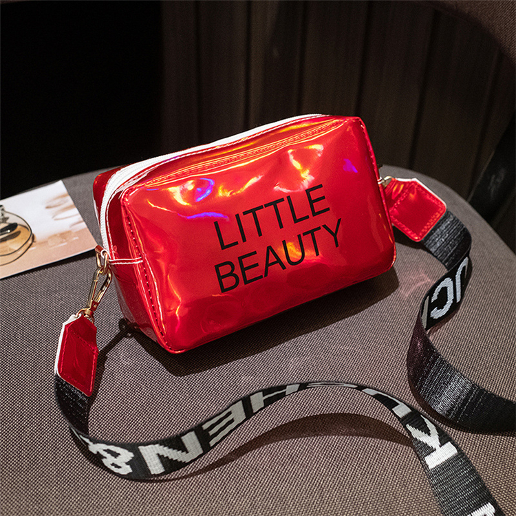 Hot Sale Fashion Letter Print All Match Simple Messenger Bag Casual Small Square Bag For Women