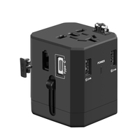 Factory free shipping new hot sell usa travel adapter universal adapters gifts for promotion
