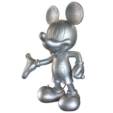 Aangepaste Spray Lak Glasvezel Mickey Mouse <span class=keywords><strong>Sculptuur</strong></span>