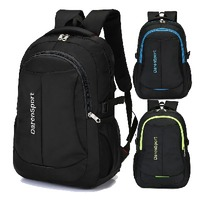 Durable Functional Outdoor polyester travel backpack school students bagpack