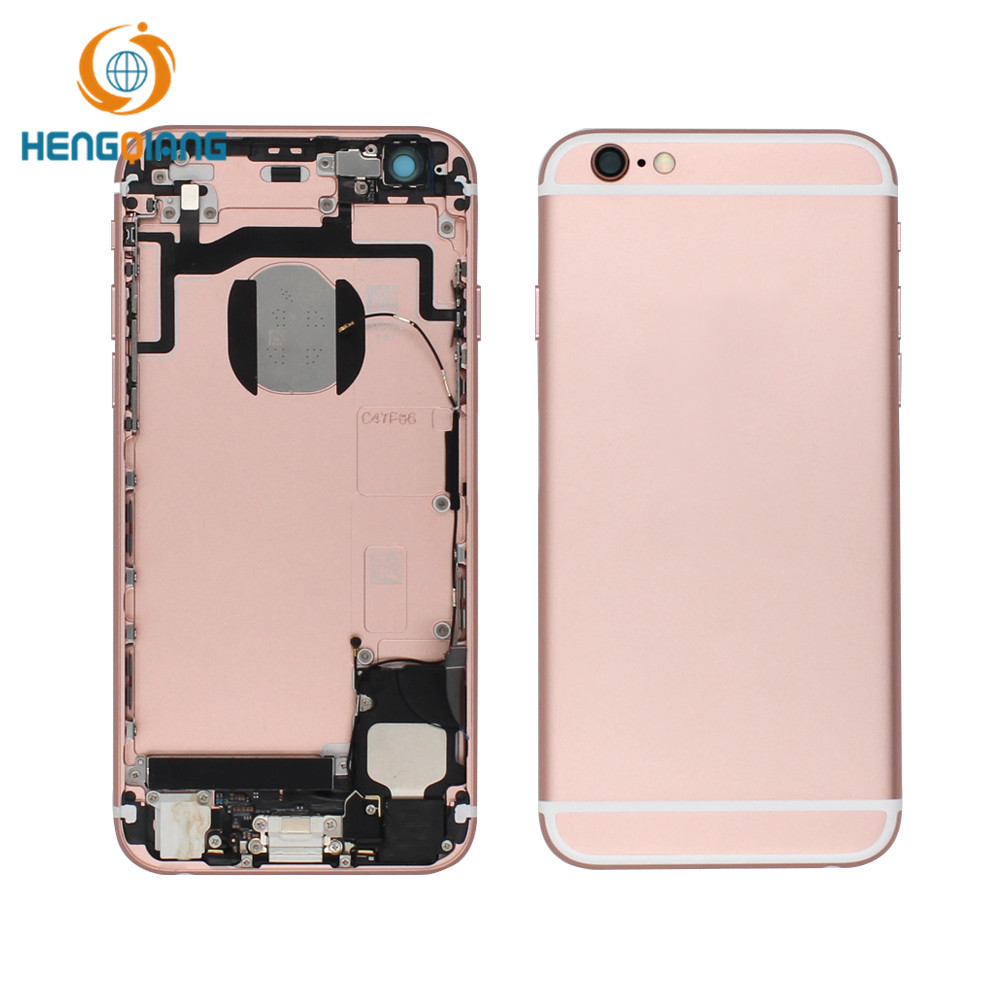 HQ mobile phone housing for iphone 6s 6 rear cover