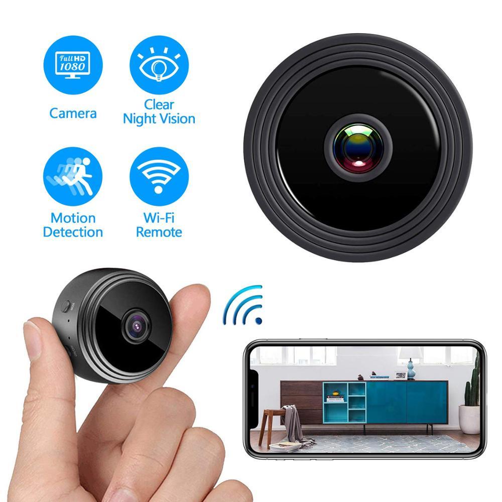 2020最新ミニ隠しカメラwifiセキュリティ録画スパイカメラ、クラウドストレージ付き