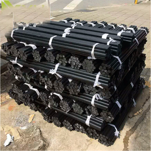 2019 factory price Custom specifications 1-150mm black ABS rod POM bar PP rods hard solid plastic rod