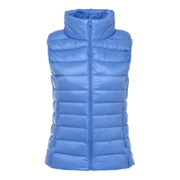 AGRADECIDO Woman Jackets Women Down Vests Lightweight Vest Stand collar vest sleeveless jacket winter jacket