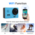 Genlerplus 4247 chipset 3G super wide angle 2inch waterproof wifi action camera