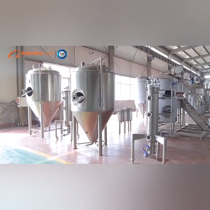 500L 1000L 2000L Beer Micro Brewery Equipment Beer Fermentation Tank For Sale
