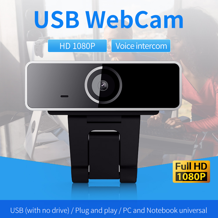 Mass Stock HD 1080P High Quality Webcam With Microphone For Teaching Video Live Show USB 2.0 PC Camera