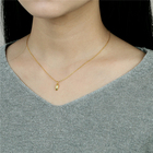 Fashion jewelry women gold chain 925 sterling silver necklace