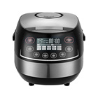 2020 highly durable and functional electric 5 liter rice cooker set customized stainless steel