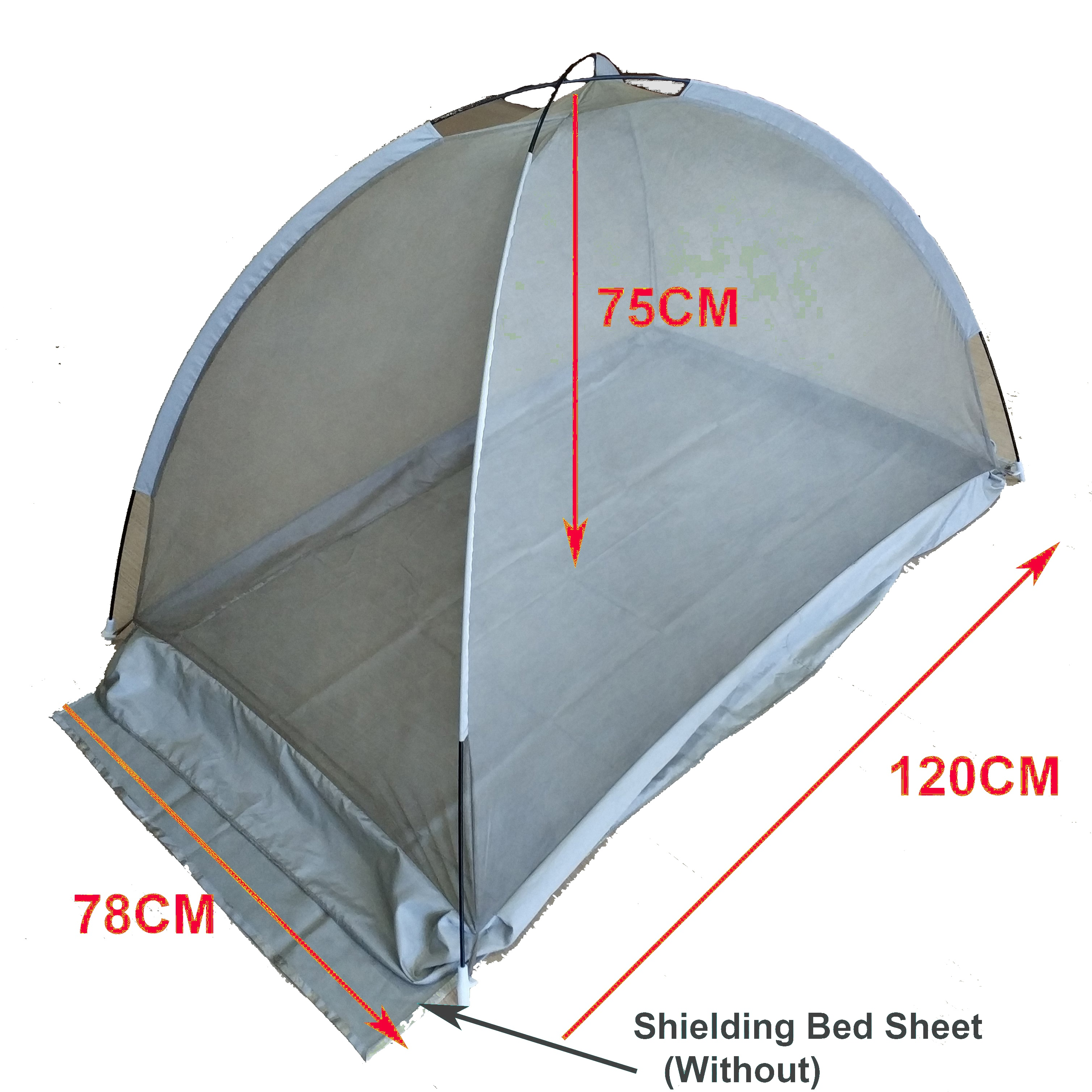 Electromagnetic Radiation Shielding Faraday Mongolian Yurt Mosquito Net