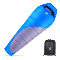 3-4 Season Portable Outdoor Camping Backpacking High Quality Mummy Sleeping Bag for Adult