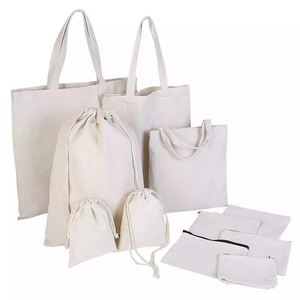 Promotional Cheap Handled Custom Logo Silk Screen Printed Organic Cotton Canvas Tote Bag