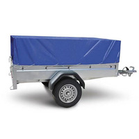 custom outdoor utility heavy duty blue color PVC tarpaulin waterproof cargo car open truck vehicle protection Trailer cover