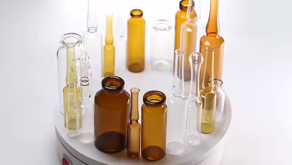 1 مللي 2 مللي 3 مللي 5 مللي كهرماني شفاف حقن المضادات الحيوية الزجاج قارورة ليوفيليزاتيون الطبية
