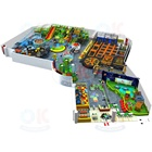 Commercial Daycare Set Toddler Soft Play Supplier Children Indoor Playground Equipment for Kid