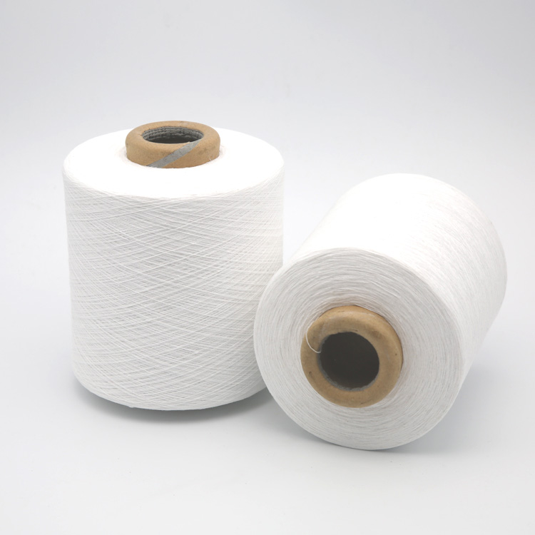 low price for carded knitting open end recycled cotton glove yarn