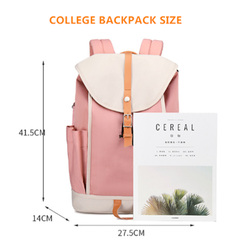 product-2020 Newest Factory Wholesale Korean Style Designer College Bags Stylish Waterproof Drawstri-1