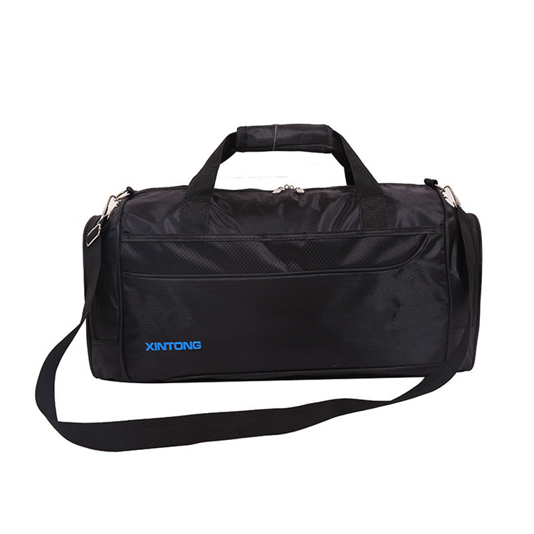 multifunctional polyester low moq fashionable OEM big sports travel duffle bag high quality