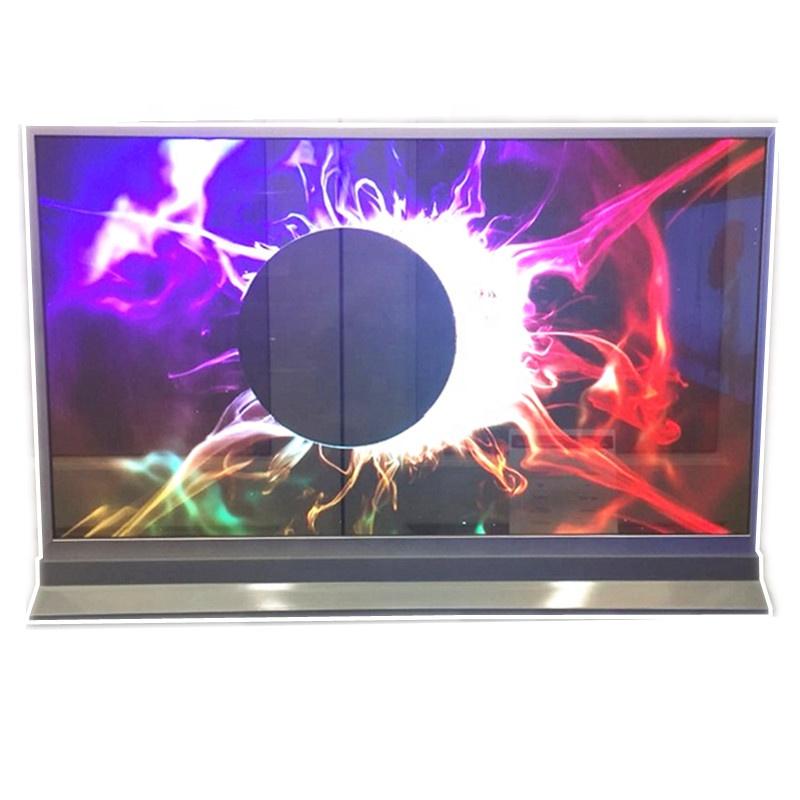 LW550JUL HMA1 55inch transparent oled display module advertising window transparent oled screen