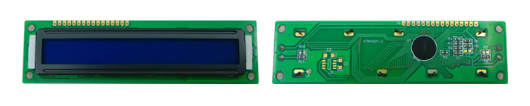 STN 16*1 character LCD display