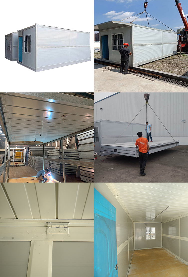 prefabricated luxury mobile modular 20ft 40ft garden container site office steel building house units china price for sale
