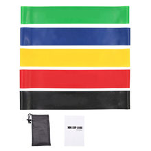 Резиновые повязки для фитнеса, набор эластичных лент для занятий спортом, поплавки для йоги, мини-повязки для пилатеса, растягивающиеся пов...(Китай)