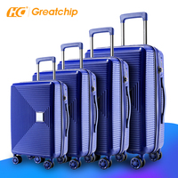 High Quality Travel Suitcase Cases European Standard ABS 3PCS trolley other luggage & travel Bags sets