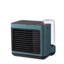 Портативный мини-кондиционер, вентилятор, увлажнитель, очиститель, USB зарядка, отрицательные ионы, настольный воздушный охладитель, Ночной ...(Китай)