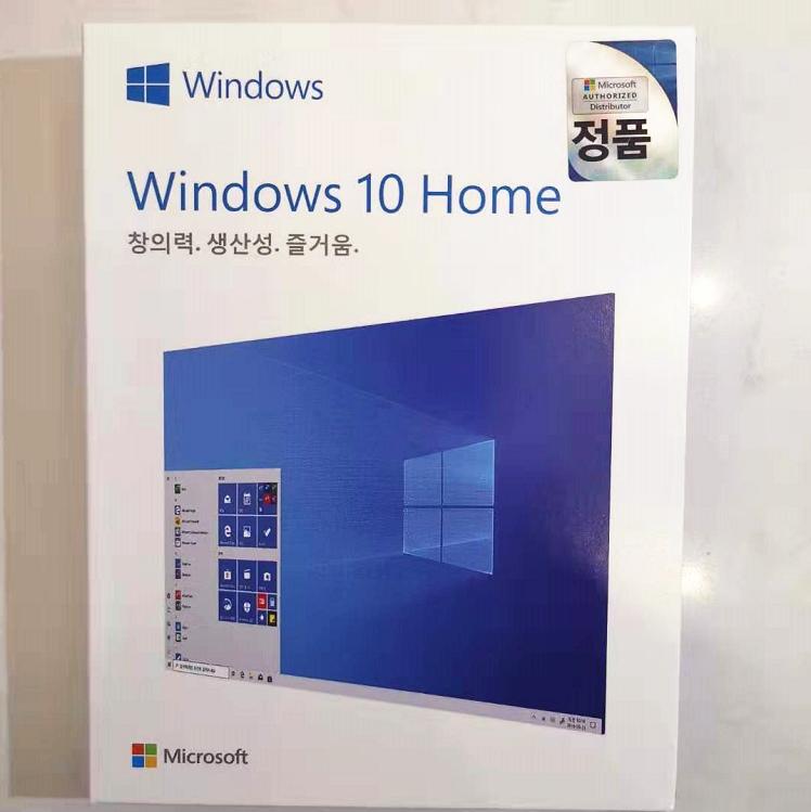 Keuntungan Yang Tinggi Windows 10 Pro Profesional FPP Korea Usb Sku-00128 Asli Kode Kunci WIN 10 Retail Kunci Coa stiker