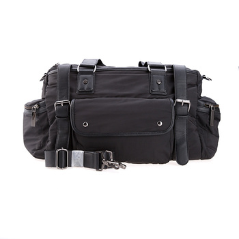 19SC-8180M High Quality Outdoor Black Nylon Tote Travel Bag Sport Bags Duffel Bag In Stock