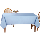 12 pack Disposable table cover outdoor wedding plastic tablecloths